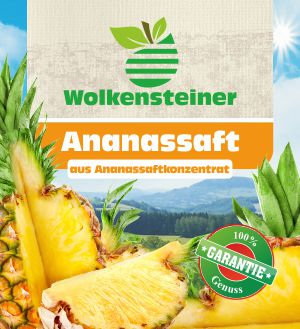 Ananassaft 1L